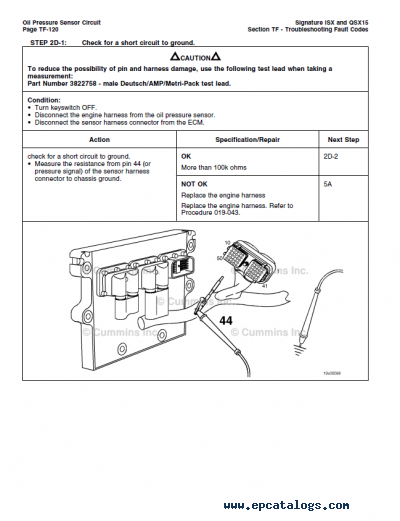 30 Cummins Isx Ecm Wiring Diagram