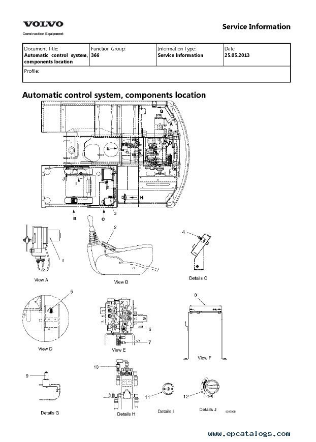 Volvo Ec Ec Lc Excavator Service Repair Manual Pdf on Volvo Truck Engine Diagram