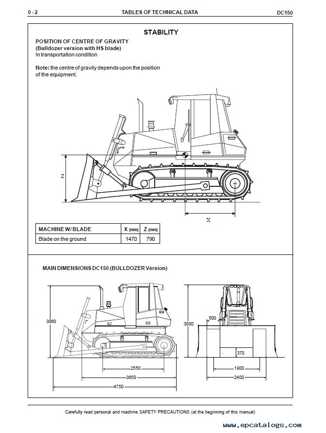 New Holland Dozer Crawlers Dc150  U0026 Lgp Service Manual Pdf