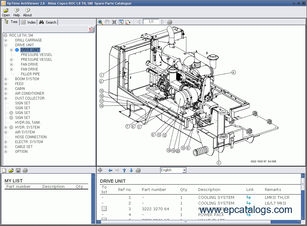 atlcop9911 atlas copco rock drills roc f9, f9 11, spare parts catalog, heavy atlas wiring diagrams at bayanpartner.co