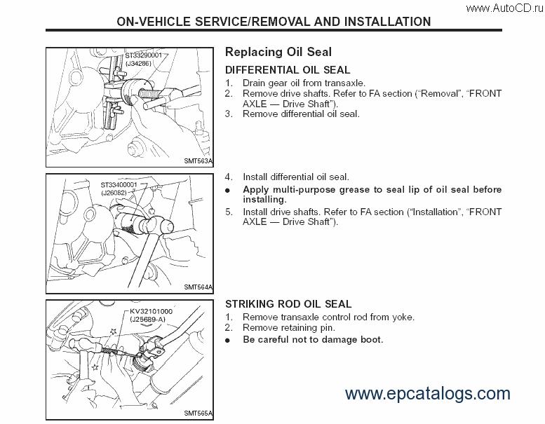 Repair manuals for nissan maxima a32 (a33) — drive2.