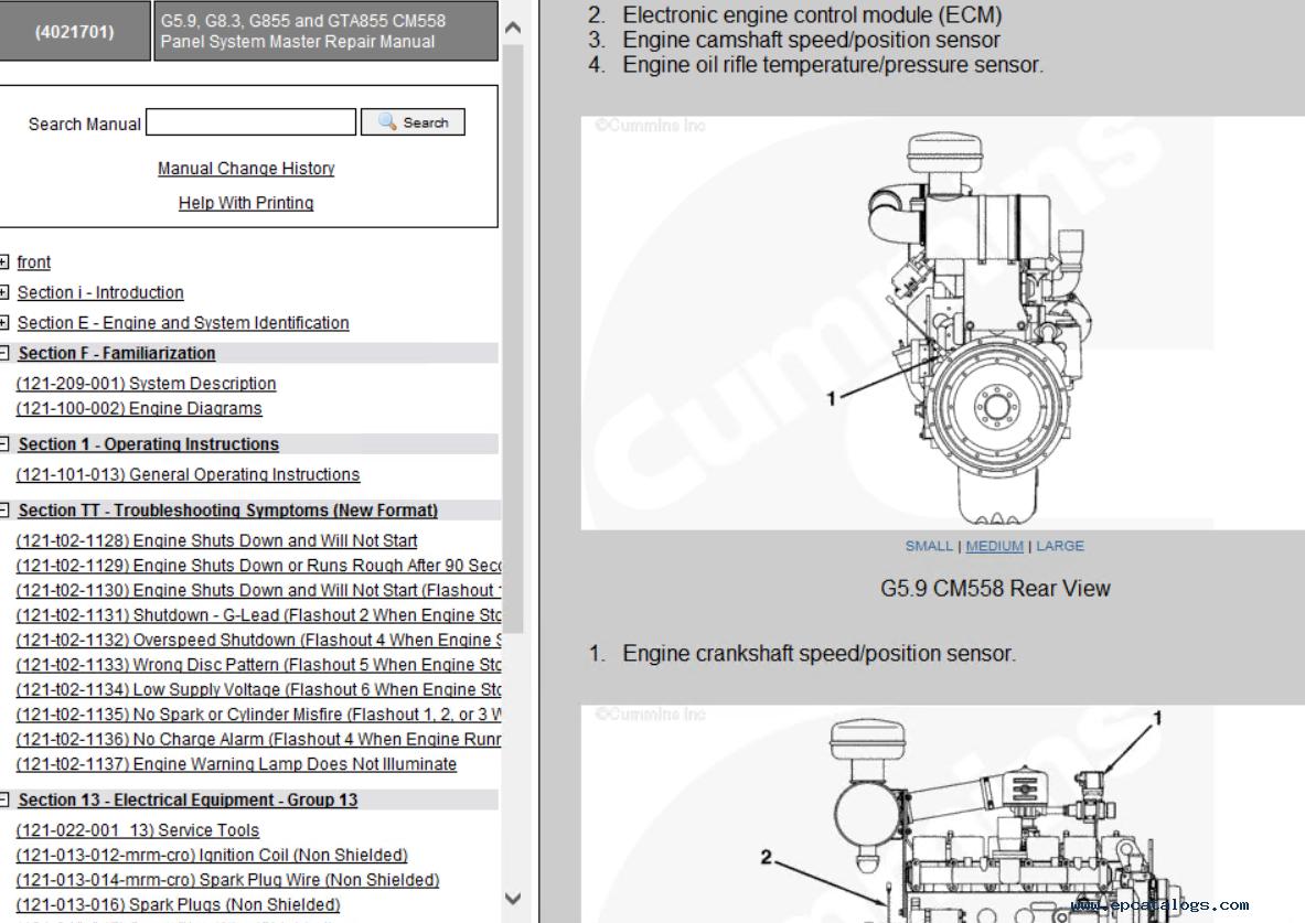 mins Mechanical Gas Fuel System G5.9, G8.3, G855, G14, G19, G28, G38, on