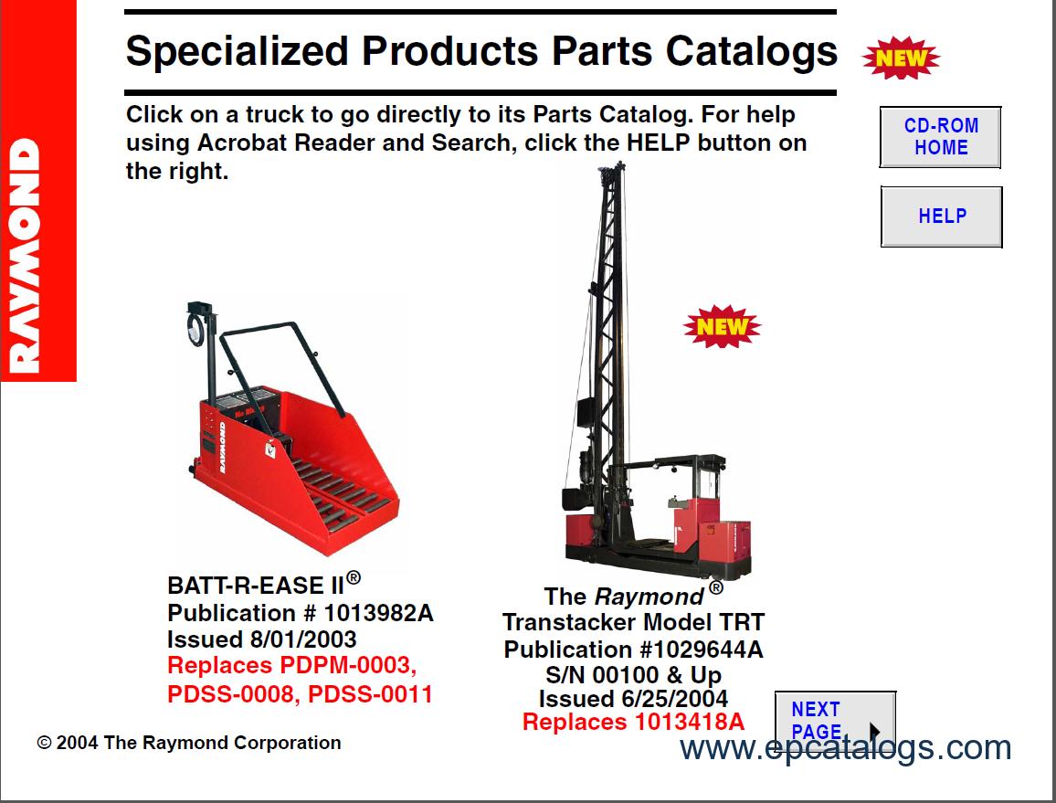 WRG-9867] Raymond Reach Truck Wiring Diagram