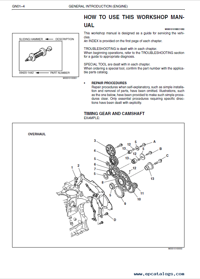 Hino 300 engine Repair manual Repair Manual PDF Hino Manual Download