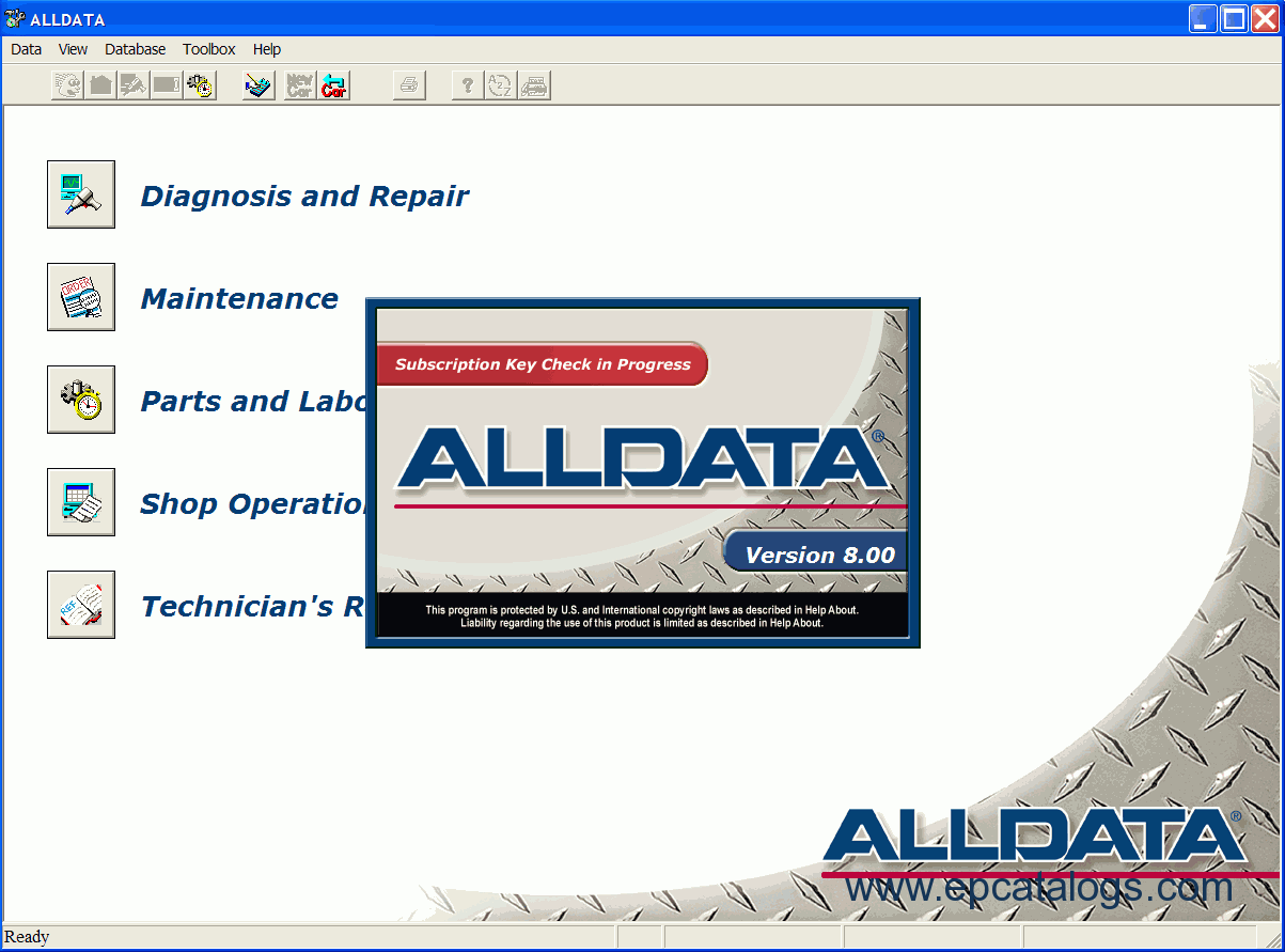 Alldata repair manual