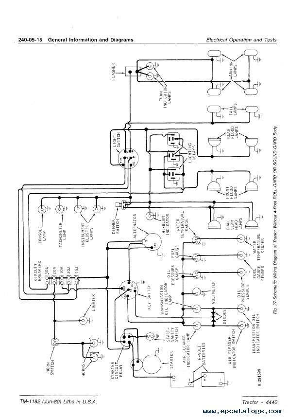 john deere 4440 tractor technical manual tm1182 pdf john deere 4440 tractor technical manual tm1182 pdf, repair manual john deere 4440 wiring diagram at suagrazia.org