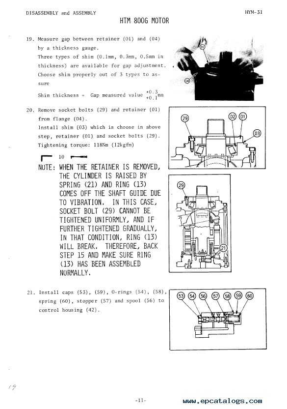 hitachi uh261 excavator service manual pdf