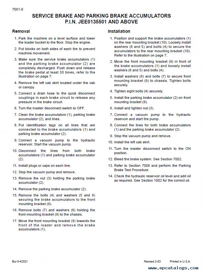 Case 521d Service Manual
