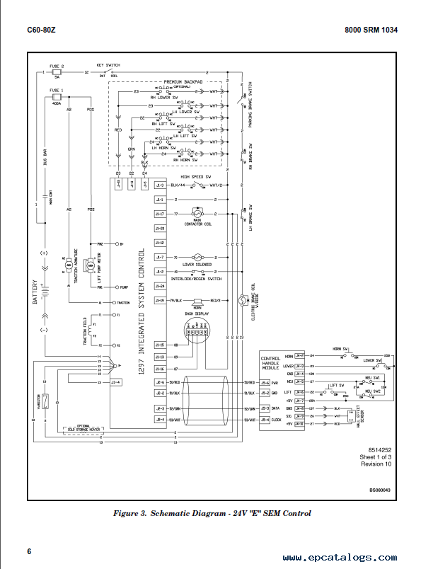 Hyster e45xm 33 Operators Manual