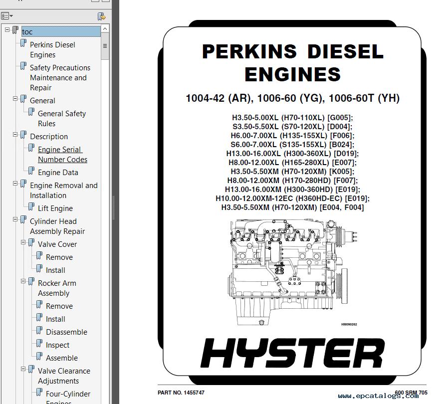hyster operators manual ebook on