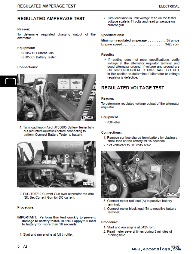 john deere f1145 front mower tm1519 technical manual pdf