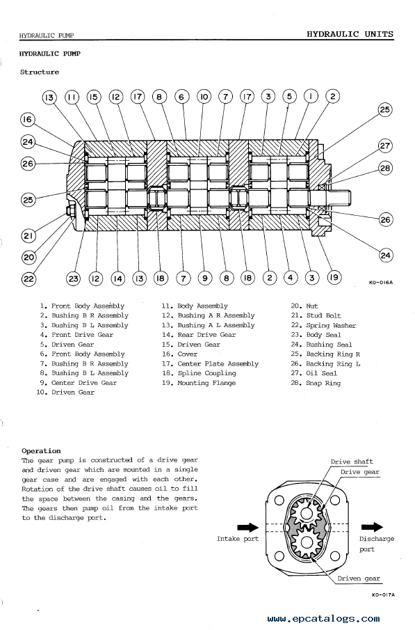 Takeuchi TB45 Compact Excavator Workshop Manual PDF