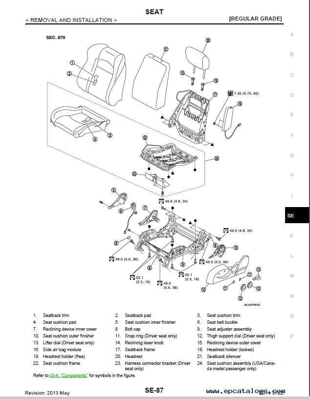 nissan 370z model z34 series 2014 service manual pdf rh epcatalogs com nissan 370z owners manual 2012 nissan 350z service manual