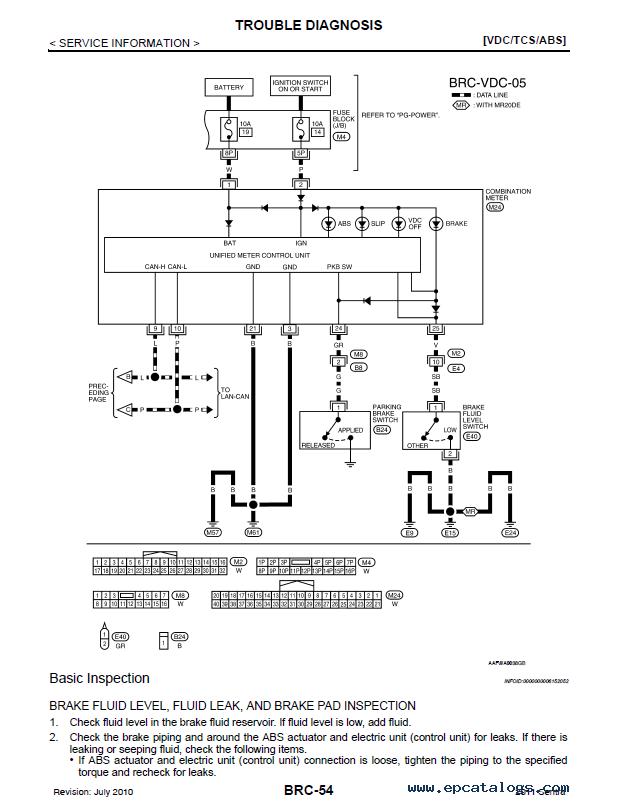 nissan sentra model b16 series 2011 service manual pdf  epcatalogs