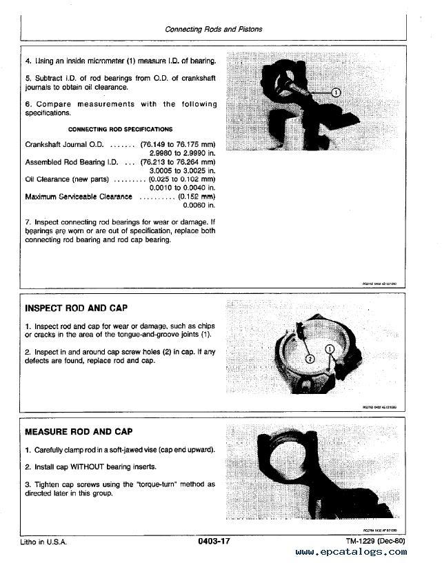 John Deere 2280 Service Manual