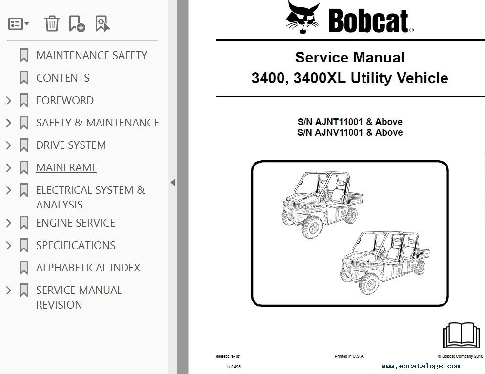 Bobcat S175 Wiring Diagram Bobcat 873 Wiring Diagram