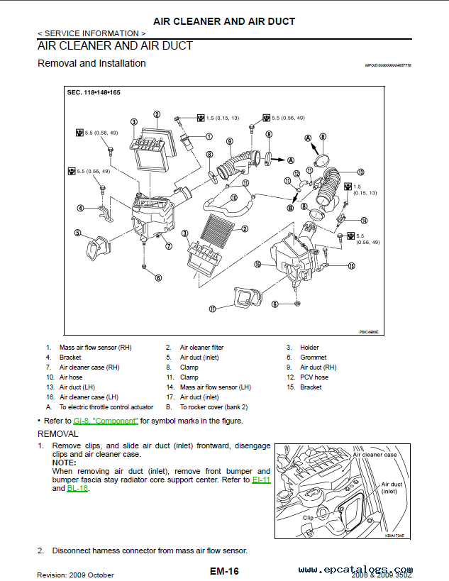 Nissan 350z model z33 series 2009 service manual pdf enlarge swarovskicordoba Images