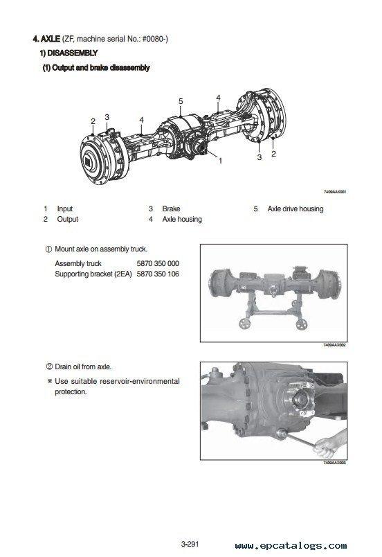 hyundai wheel loader service manual