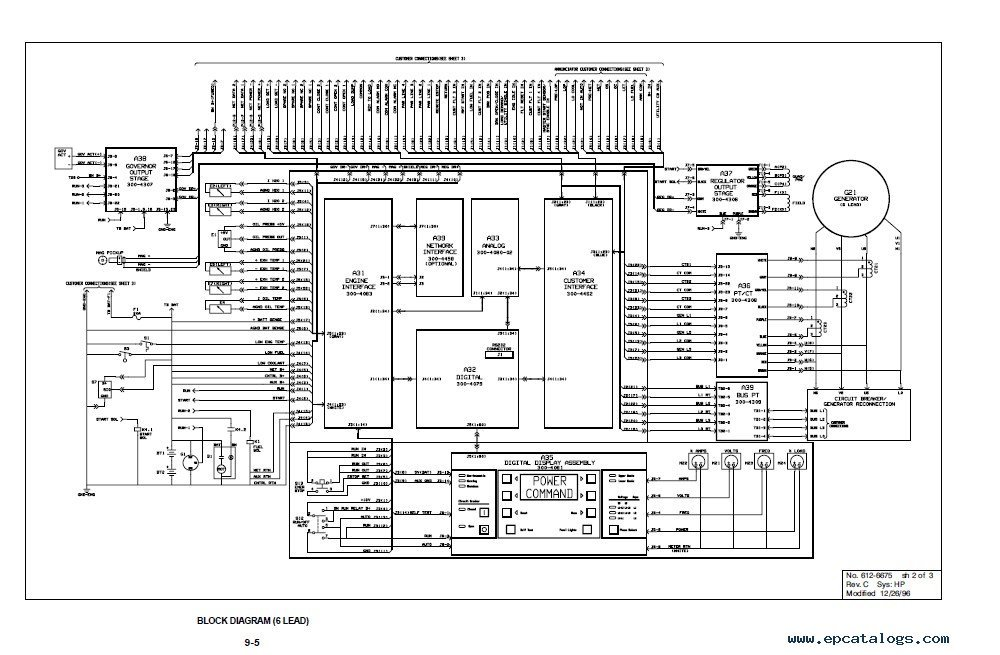 cummins powercommand control 3100 series digital paralleling generator sets cummins powercommand control 3100 series digital paralleling fg wilson engine interface module wiring diagram at gsmx.co