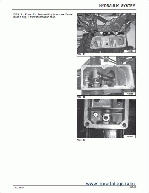 massey ferguson compact tractor gc 2300 series workshop manual