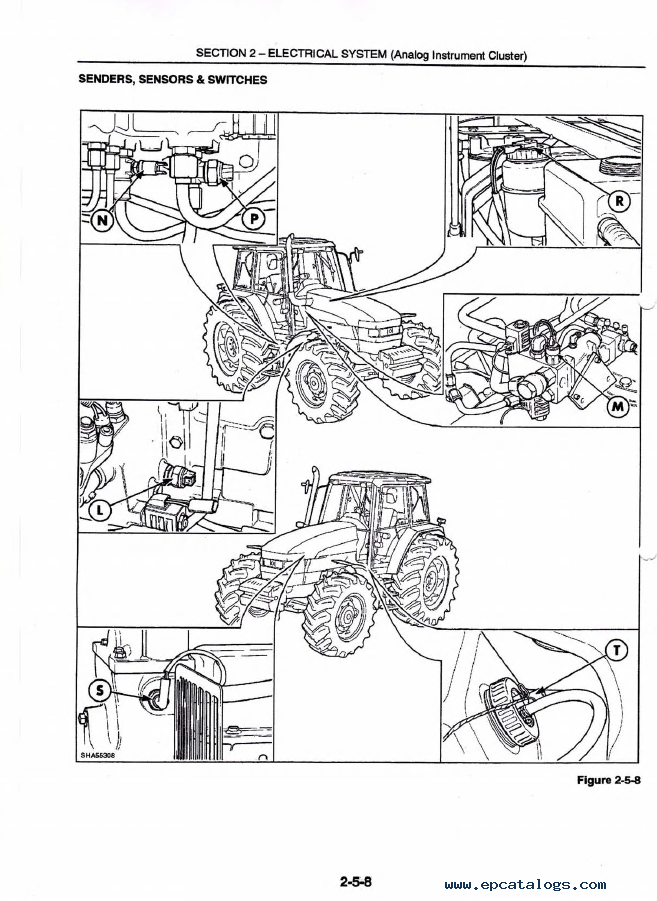 New Holland Wiring Schematic on ford new holland 8240 wiring diagram