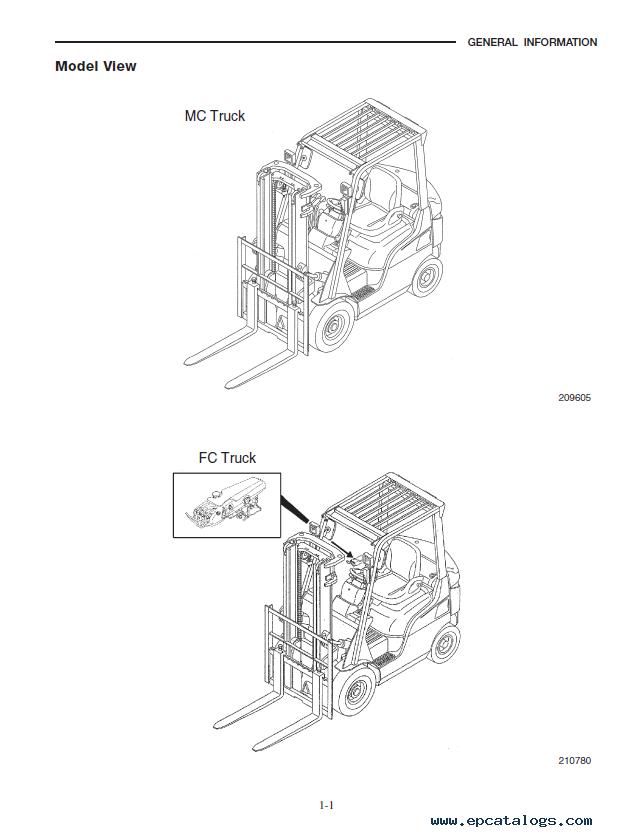 caterpillar dp15n dp18n dp20cn forklifts pdf manual