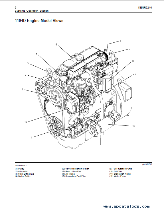 Download Perkins 1104d Mech Engine Testing Adjusting Pdf