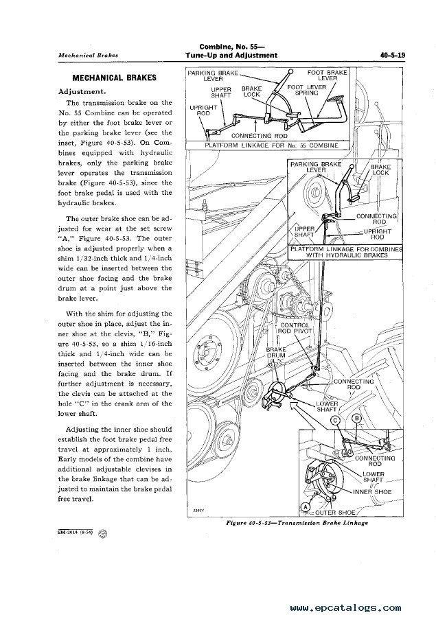 John Deere No  55 Combine Sm2014 Service Manual Pdf