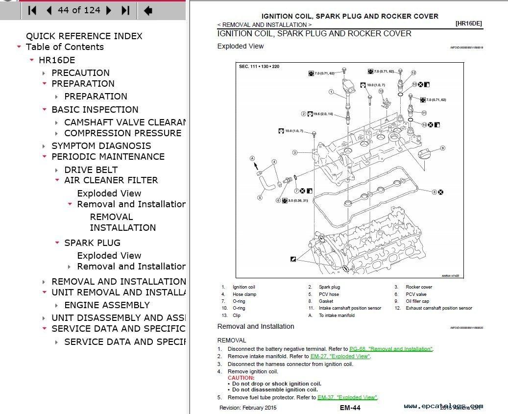 Download Nissan Almera Model N17 Series 2016 Esm Central Locking Wiring Diagram Repair Manual Electronic Service 4