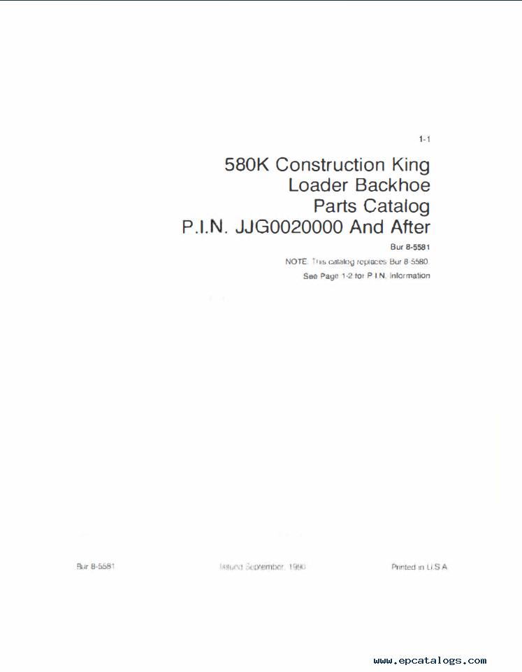 Case Ck Tractor Workshop Service Manual