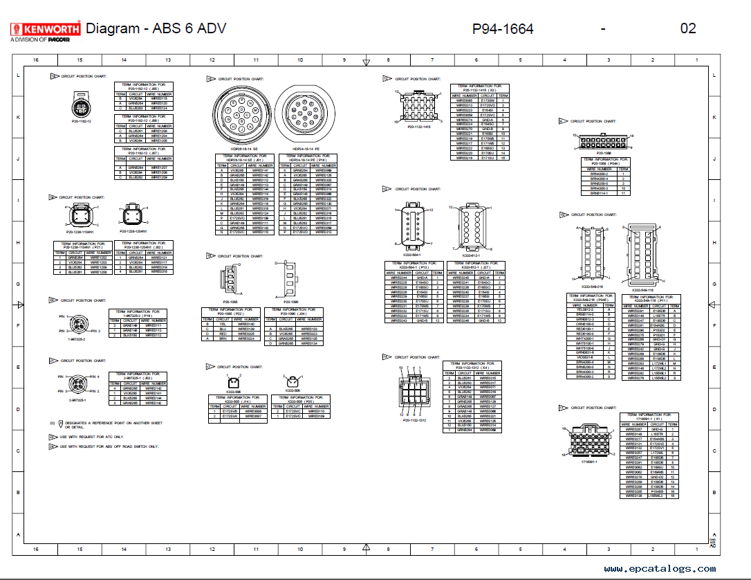 Kenworth Wiring Diagram Simple Home Electrical Diagrams Pdf Truck Manual
