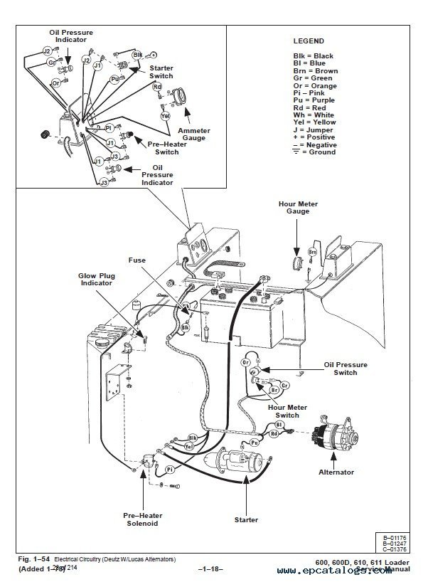 Bobcat 600 600d 610 611 Skid Steer Loader Service Manual