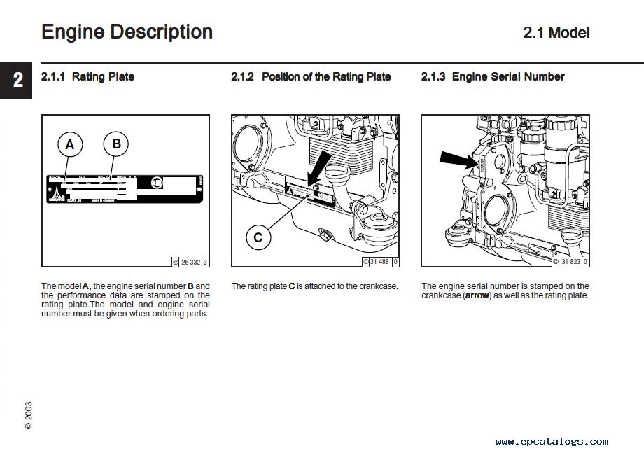 Download Deutz Diesel Engines 2012 Operation Manual Pdf