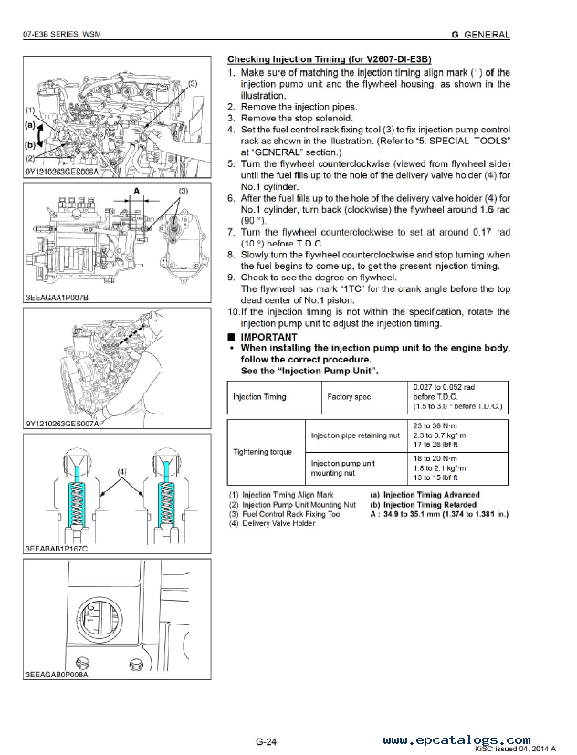 kubota 07 e3b series diesel engine workshop manual pdf v6 diesel engine parts diagram kubota diesel engine parts diagram #6