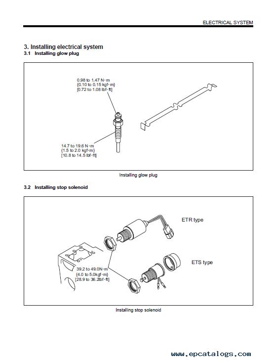 Download Mitsubishi Diesel Engine L-Series Service Manual