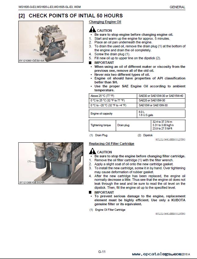 Manual for natural Gas Engines yanmar