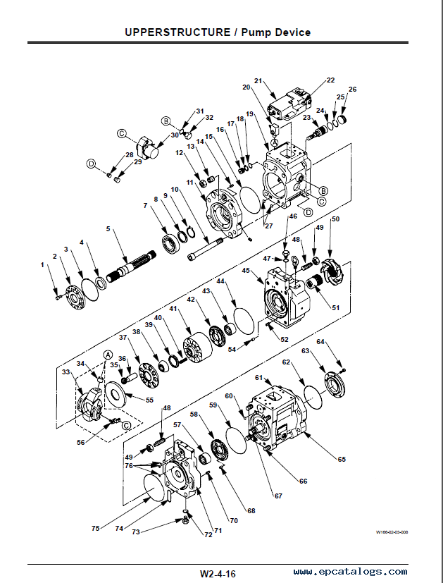 hitachi ex400 5 ex400lc 5 ex450lc 5 excavators workshop manual w166e00 pdf grove crane wiring diagram fiat allis wiring diagram, wabco terex pt80 wiring diagram at mifinder.co