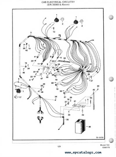 743 Bobcat Skid Steer Wiring Schematic