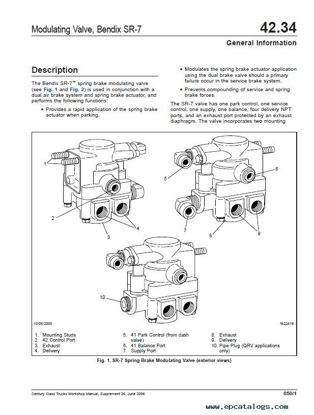 Freightliner Century Class Trucks Workshop Manual Pdf