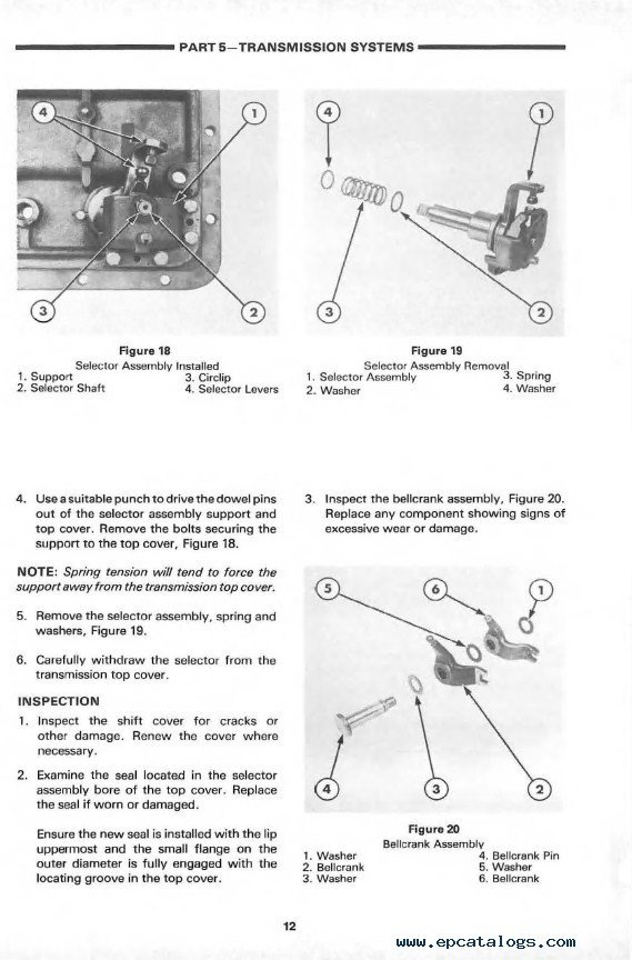 New Holland Ford 3610 Tractor workshop repair service manual ford 3610 wiring diagram wiring diagrams  at soozxer.org