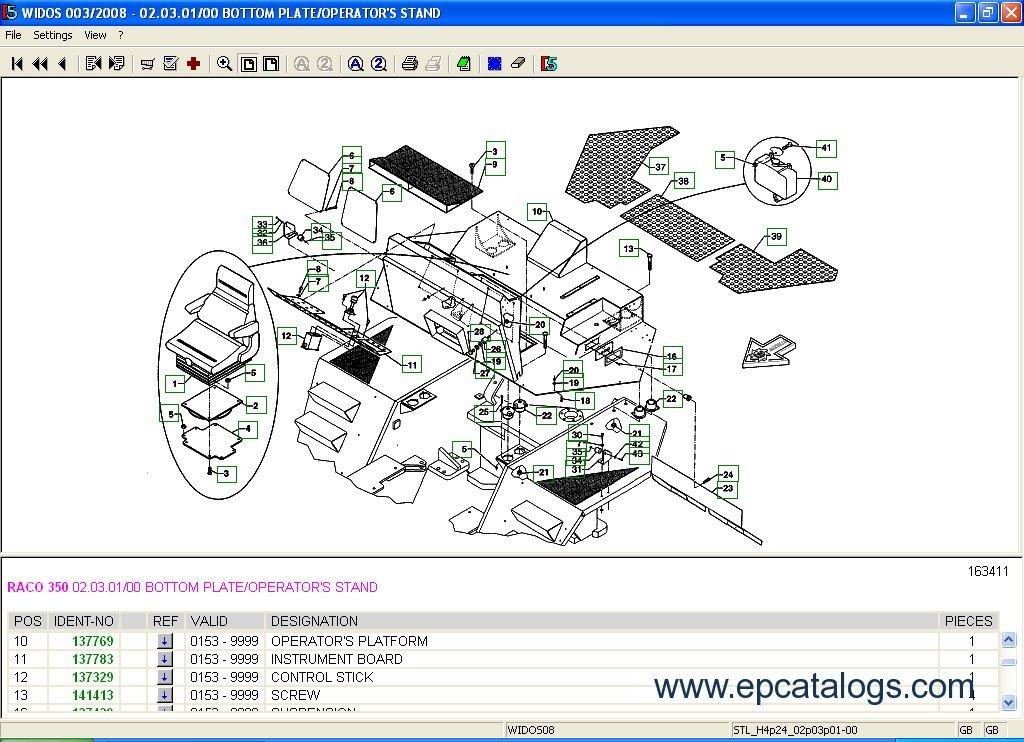 wirtgen hamm vogele kleemann spare parts catalog download rh epcatalogs com Hamm Parts Catalog Hamm H12i Roller