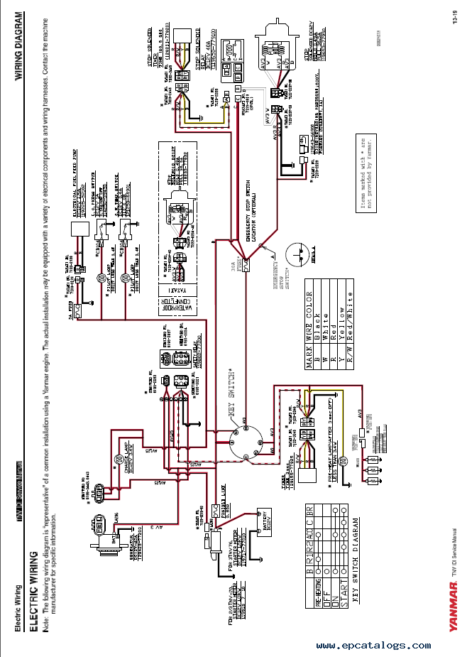 yanmar 1600 tractor wiring diagram yanmar wiring diagrams yanmar alternator wiring diagram images alternator wiring diagram