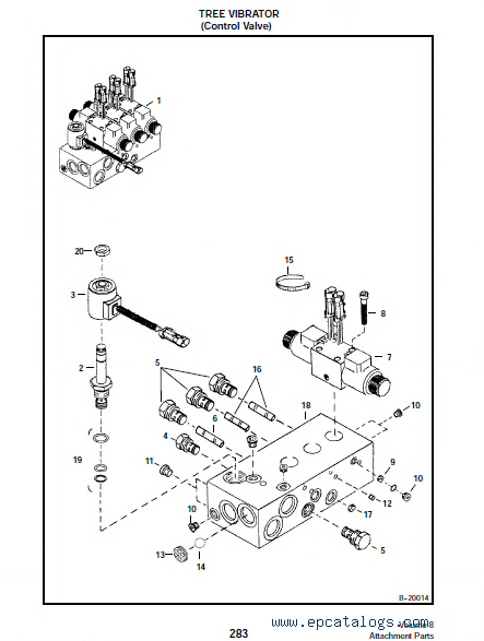 Bobcat Volume 8 Attachments Parts Manual Pdf