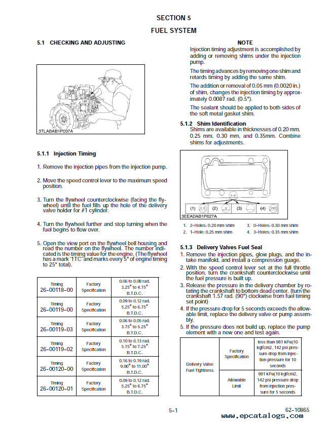 Kubota V2203 Di Diesel Engine Workshop Manual Pdf