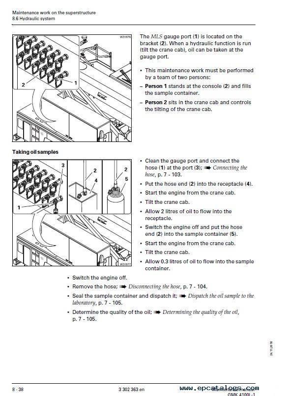 Download Grove Truck Crane GMK 4100L-1 Maintenance PDF