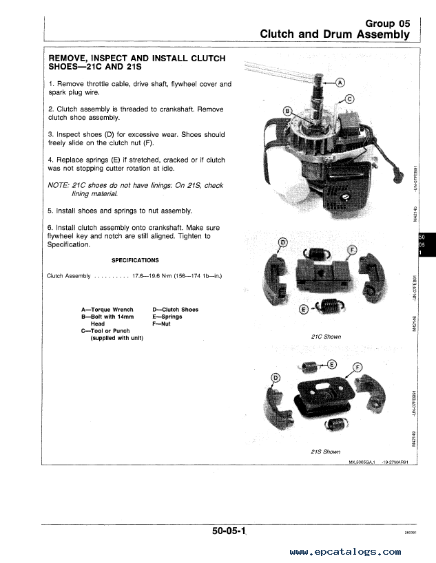 John Deere S1400 Parts Manual Image Not Found Or Type Unknown