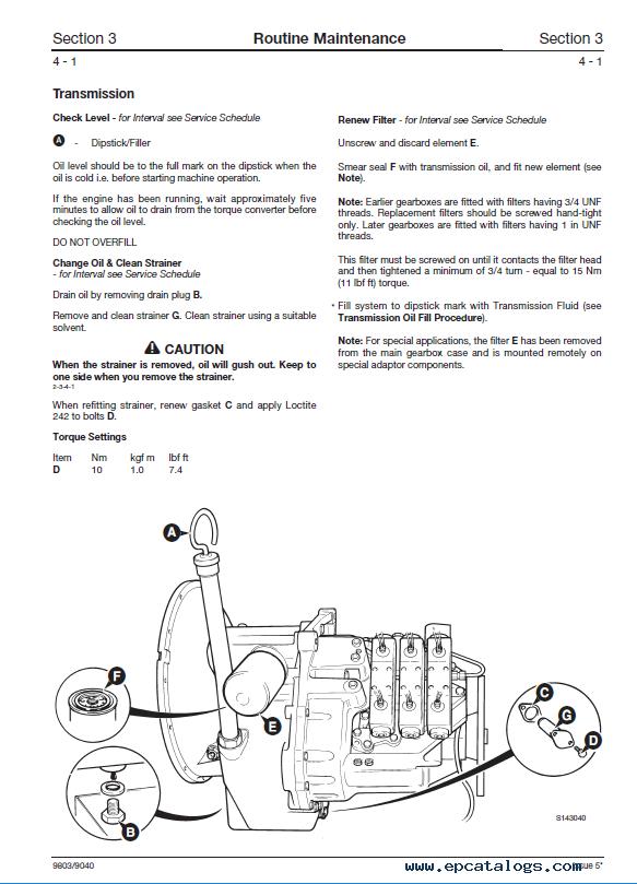 Download Jcb Ps700 Ps750 Transmissions Service Manual Pdf