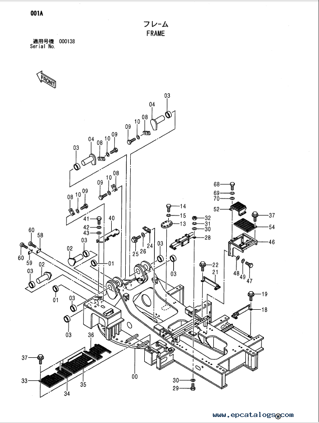 Hitachi Ex1900 5 Excavator Parts Catalog P18c Op4 1 Pdf