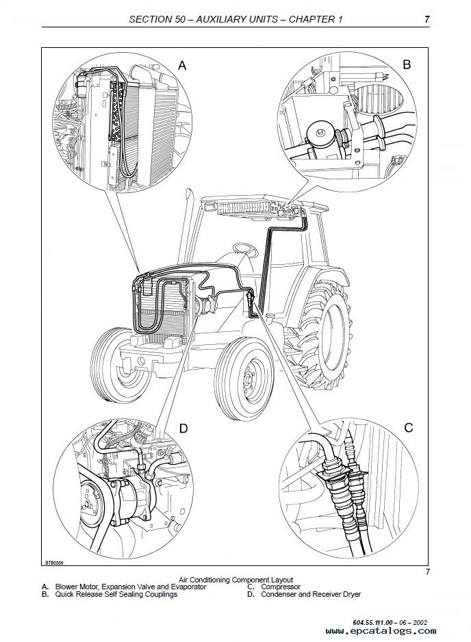 New Holland TM120 TM130 TM140 TM155 TM175 TM190 Tractors Workshop Manual PDF