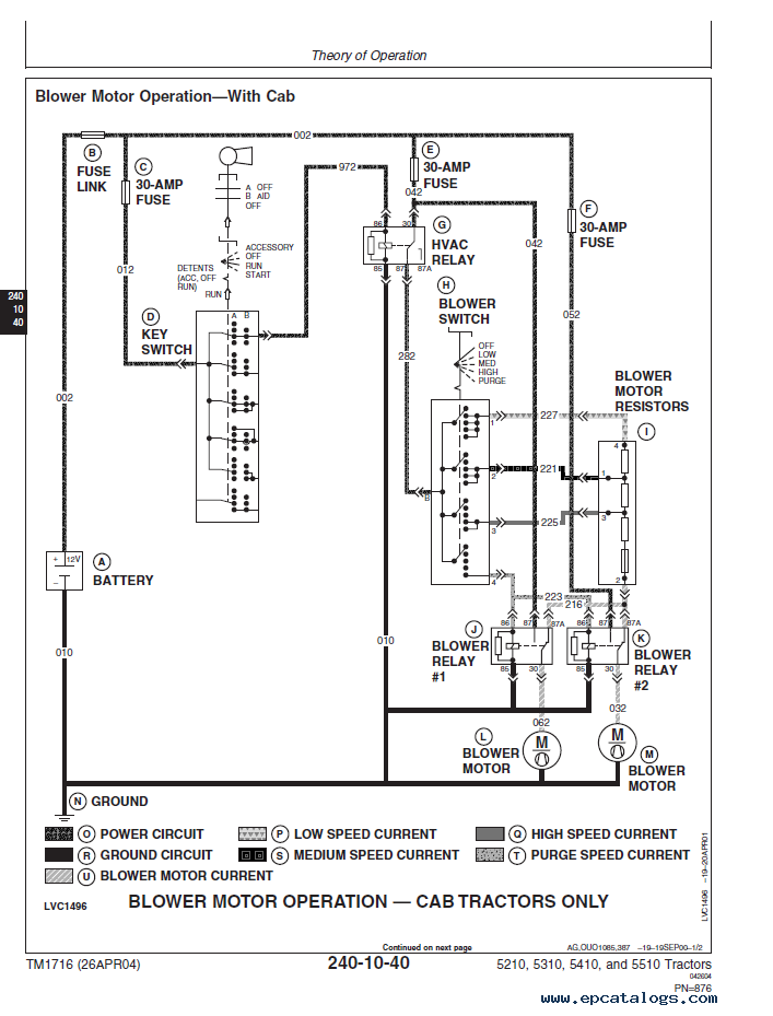 John Deere 5410 Wiring Diagram on john deere 1010 wiring schematic